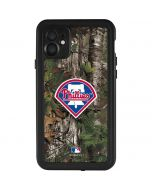Philadelphia Phillies Realtree Xtra Green Camo iPhone 11 Waterproof Case