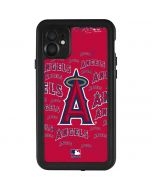 Los Angeles Angels - Cap Logo Blast iPhone 11 Waterproof Case
