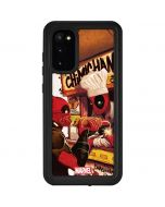 Deadpool Chimichangas Galaxy S20 Waterproof Case