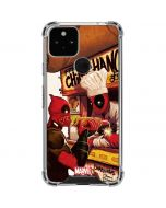 Deadpool Chimichangas Google Pixel 5 Clear Case
