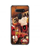 Deadpool Chimichangas LG K51/Q51 Clear Case