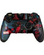 Deadpool Comic PlayStation Scuf Vantage 2 Controller Skin