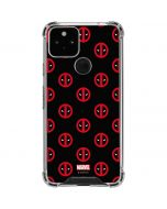 Deadpool Logo Print Google Pixel 5 Clear Case