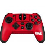 Deadpool Logo Red PlayStation Scuf Vantage 2 Controller Skin