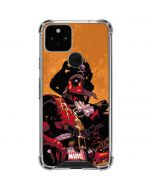 Deadpool Shiver Me Timbers Google Pixel 5 Clear Case