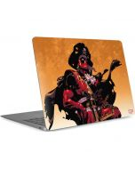 Deadpool Shiver Me Timbers Apple MacBook Air Skin