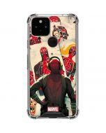 Deadpool Target Practice Google Pixel 5 Clear Case