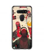 Deadpool Target Practice LG K51/Q51 Clear Case