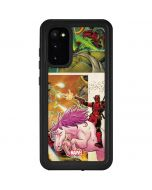 Deadpool Unicorn Galaxy S20 Waterproof Case