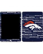 Denver Broncos Blue Blast Apple iPad Skin