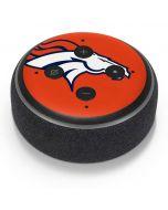 Denver Broncos Large Logo Amazon Echo Dot Skin