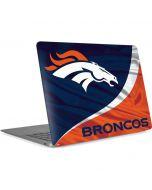 Denver Broncos Apple MacBook Air Skin