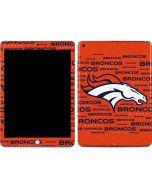 Denver Broncos Orange Blast Apple iPad Skin