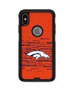 Denver Broncos Orange Blast Otterbox Commuter iPhone Skin