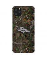 Denver Broncos Realtree Xtra Green Camo iPhone 11 Pro Max Skin