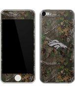 Denver Broncos Realtree Xtra Green Camo Apple iPod Skin