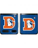 Denver Broncos Retro Logo Galaxy Z Flip Skin