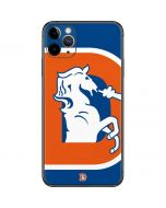 Denver Broncos Retro Logo iPhone 11 Pro Max Skin