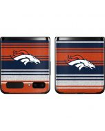 Denver Broncos Trailblazer Galaxy Z Flip Skin