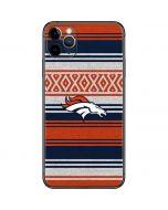 Denver Broncos Trailblazer iPhone 11 Pro Max Skin