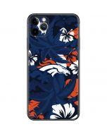 Denver Broncos Tropical Print iPhone 11 Pro Max Skin