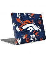 Denver Broncos Tropical Print Apple MacBook Air Skin