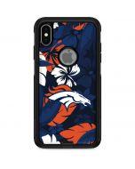 Denver Broncos Tropical Print Otterbox Commuter iPhone Skin