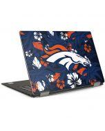 Denver Broncos Tropical Print Dell XPS Skin