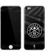 Denver Nuggets Black Animal Print Apple iPod Skin