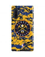 Denver Nuggets Digi Camo Galaxy Note 10 Pro Case