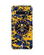 Denver Nuggets Digi Camo Galaxy S10 Plus Lite Case
