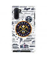 Denver Nuggets Historic Blast Galaxy Note 10 Pro Case