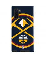 Denver Nuggets Large Logo Galaxy Note 10 Pro Case