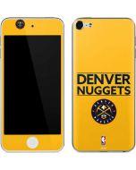 Denver Nuggets Standard - Blue Apple iPod Skin