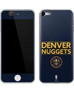 Denver Nuggets Standard - Light Blue Apple iPod Skin