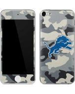 Detriot Lions Camo Apple iPod Skin