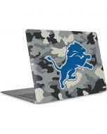 Detriot Lions Camo Apple MacBook Air Skin