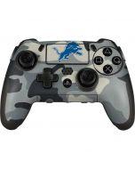 Detriot Lions Camo PlayStation Scuf Vantage 2 Controller Skin