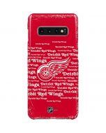 Detriot Redwings Blast Galaxy S10 Plus Lite Case
