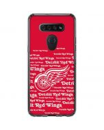 Detriot Redwings Blast LG K51/Q51 Clear Case