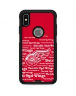 Detriot Redwings Blast Otterbox Commuter iPhone Skin
