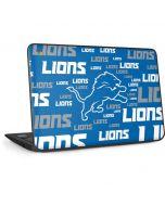 Detroit Lions - Blast Alternate HP Chromebook Skin