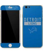 Detroit Lions Blue Performance Series iPhone 6/6s Skin