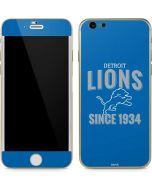 Detroit Lions Helmet iPhone 6/6s Skin