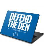 Detroit Lions Team Motto Dell Chromebook Skin