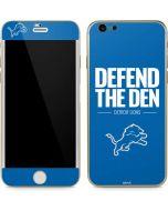Detroit Lions Team Motto iPhone 6/6s Skin
