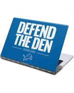 Detroit Lions Team Motto Yoga 910 2-in-1 14in Touch-Screen Skin
