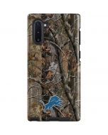 Detroit Lions Realtree AP Camo Galaxy Note 10 Pro Case