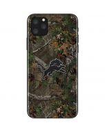 Detroit Lions Realtree Xtra Green Camo iPhone 11 Pro Max Skin
