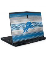 Detroit Lions Trailblazer Dell Alienware Skin